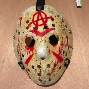 Authentic  Custom Friday the 13th Jason Mask